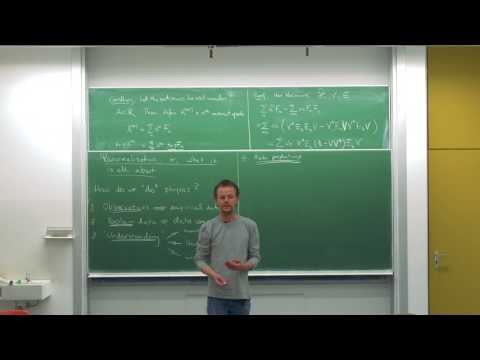 Watch this first! Advanced quantum field theory, Lecture 8