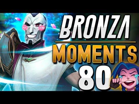 EL PITUFO MÁS CABREADO QUE NUNCA!! | BRONZA MOMENTS (Semana 80)