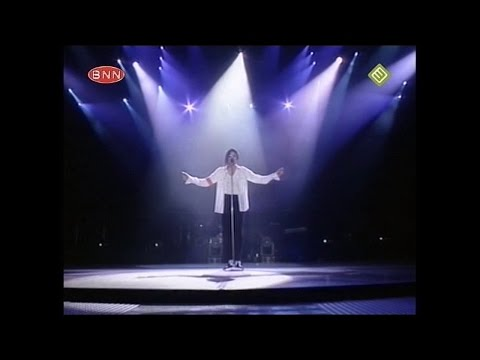 Michael Jackson - Dangerous Tour Bucharest, ROM 1992 - Man In The Mirror/The Finale (BNN Broadcast)