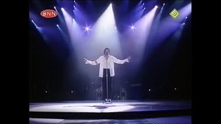 Michael Jackson - Dangerous Tour Bucharest, ROM 1992 - Man In The Mirror/The Finale (BNN Broadcast)