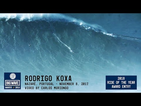 Rodrigo Koxa at Nazaré  - 2018 Ride of the Year Award Entry - WSL Big Wave Awards