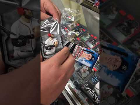 Topps museum single pack open