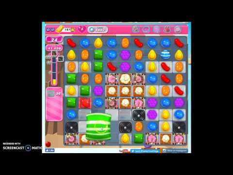 Candy Crush Level 1857 help w/audio tips, hints, tricks