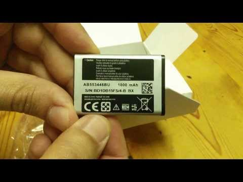 samsung E1282T Unboxing