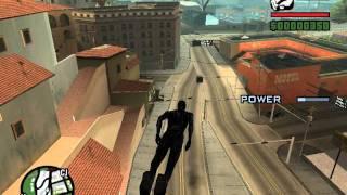 Скачать GTA San Andreas Superman Mod