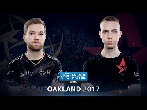 CS:GO - NiP vs. Astralis [Overpass] - Group A Round 1 - IEM Oakland 2017
