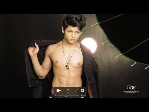 Indian Male Model and Actor Siddharth Nigam fashion photoshoot by Prashant Samtani Photography
