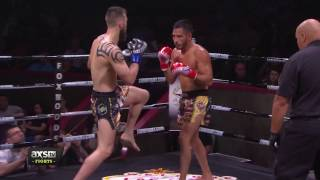 Best of 2016: Diego Llamas Introduces His Opponent to the Ropes at Lion Fight 29