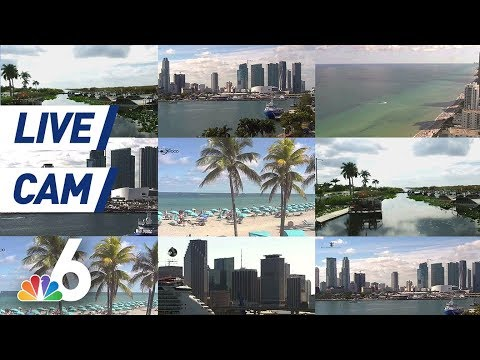 LIVE: Downtown Miami Camera From NBC 6