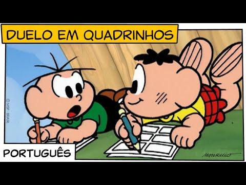 duelo-em-quadrinhos-(1998)-|-turma-da-mônica