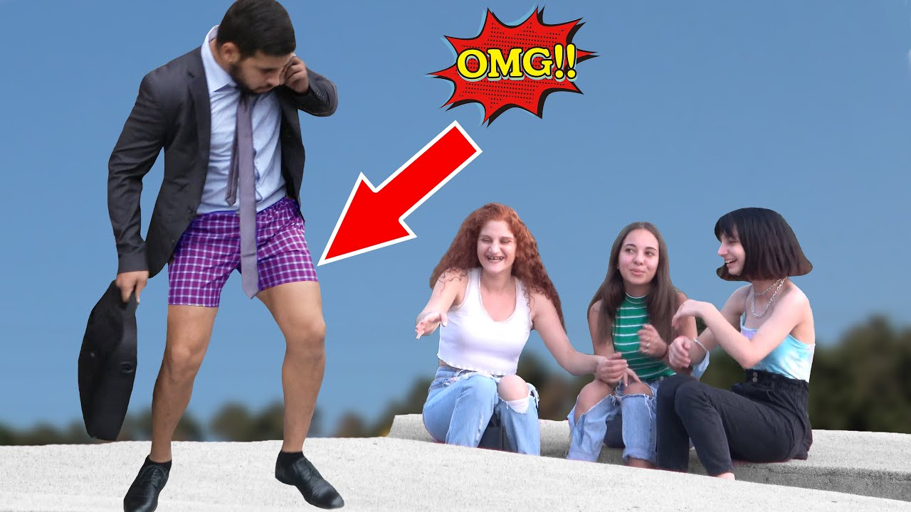 FORGOT TO WEAR PANTS, (SHOES, COSTUME) PRANK 💃  - Best of Just For Laughs