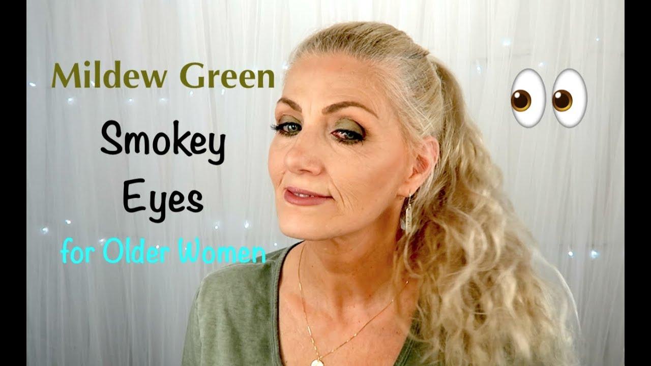 MILDEW Green Smokey Eye for Older Women - BentlyK
