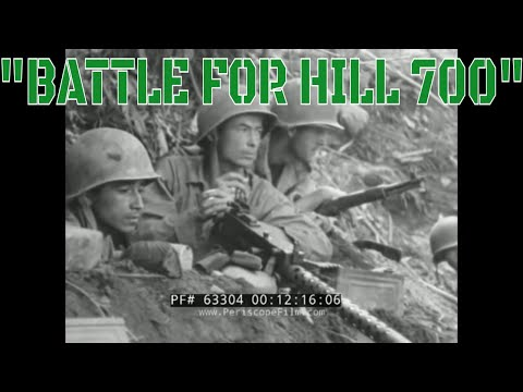 """BOUGAINVILLE CAMPAIGN  """"BATTLE FOR HILL 700""""  145th INFANTRY / 35th DIVISION COMBAT FILM  22535 thumbnail"""