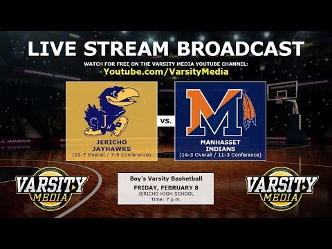 Jericho Jayhawks vs. Manhasset Indians - Boys Basketball (2.8.2019)