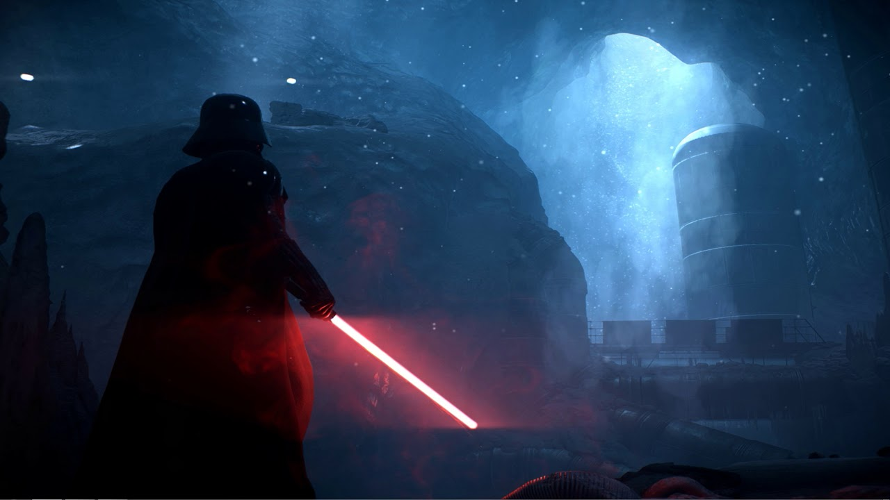 Darth Vader On Hoth Star Wars Live Wallpaper Youtube