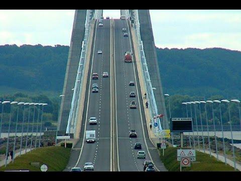 Pont de Normandie 2015 - France - Le Havre - Honfleur