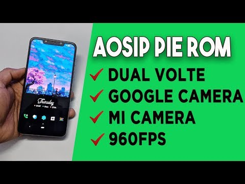 AOSIP ROM for POCO F1 based on Android 9.0 Pie