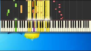 Isley Brothers   harvest for the world [Synthesia Piano] [Piano Tutorial Synthesia]