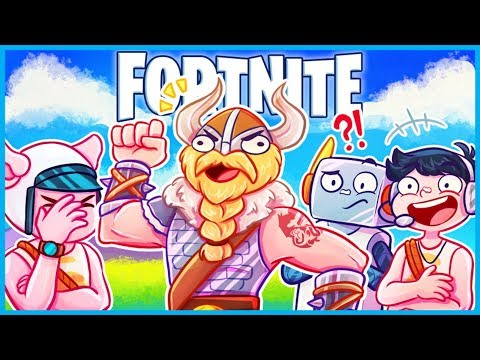 When your VIKING BROTHER LEGIQN Joins in Fortnite: Battle Royale! (Fortnite Funny Moments & Fails)