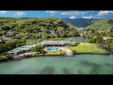 Luxury Estate at Paiko Lagoon, Honolulu, Hawaii