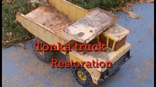 Tonka Truck Restoration Part 1