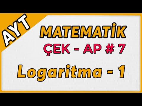 Logaritma 1 | AYT Matematik Çek-Ap 7  #çekap #aytmatematik