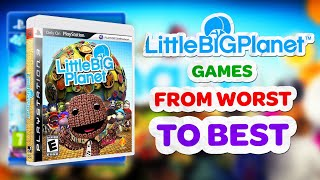 LittleBigPlanet Games - Worst to Best!