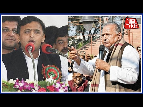 Akhilesh 'My Son After All': Father Mulayam Singh's Flip-Flop On Alliance