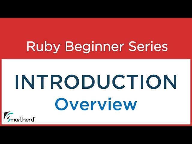 #2 Ruby Tutorial : Ruby Programming Introduction, Ruby Features and importance.