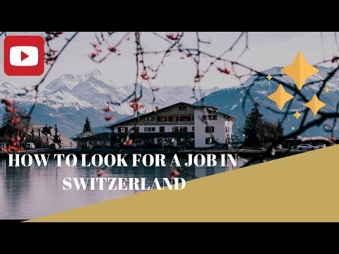 FB Live: How to look for a job in Switzerland