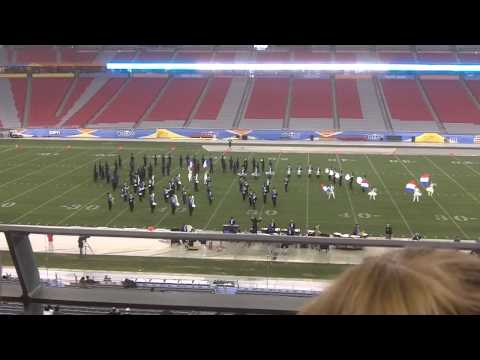 Salem High School Marching Band - Fiesta Bowl Band Championship 2012