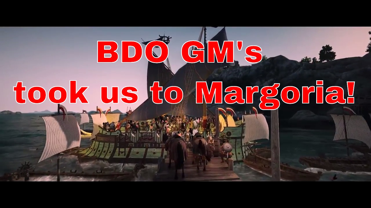 black desert how to get to margoria