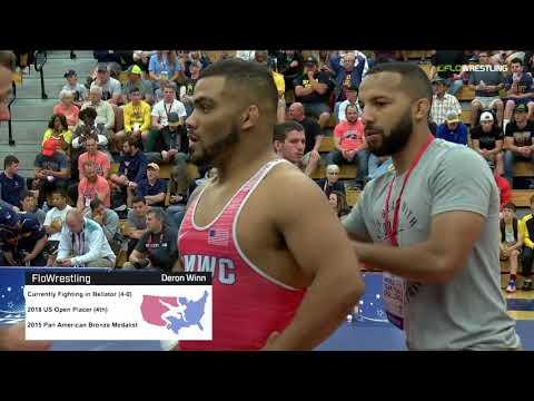 2018 FS WTT Challenge/Senior Men 92 Semi-Finals - Deron Winn (TMWC) Vs. Timmy McCall (TMWC).mp4