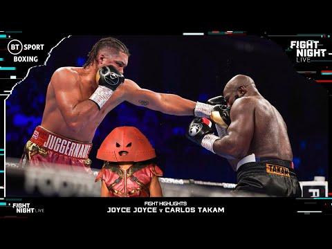 Juggernaut Keeps On Moving 💥   Joyce v Takam Fight Highlights