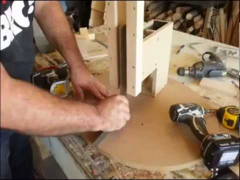 "Homemade - How to build a ""Drill Press""!"