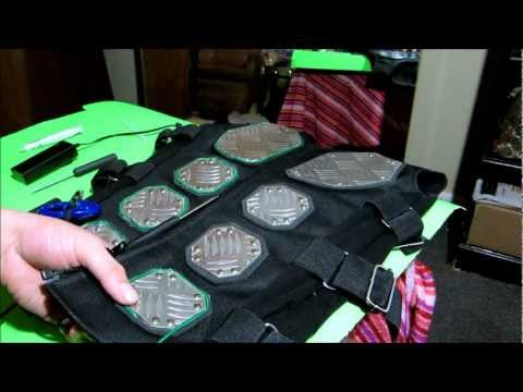How To Run EL WIRE (Electroluminescent Wire) In To A  Vest