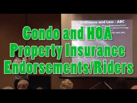 Condominium & HOA Master Insurance - Replacement Cost Realities