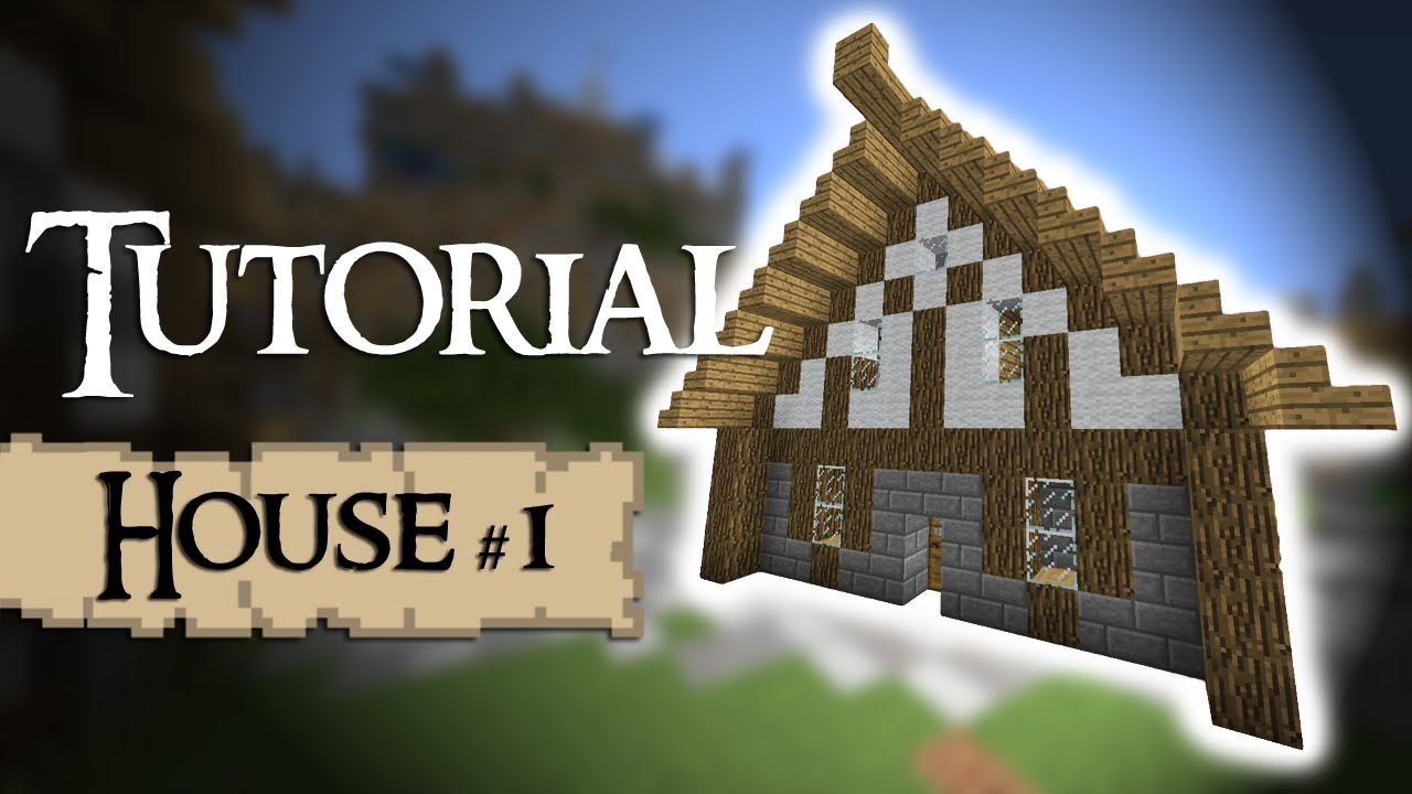Minecraft Tutorial How To Build A Medieval House YouTube