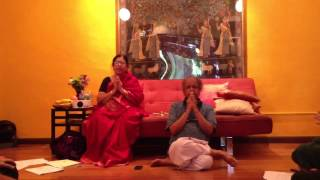 Ashtanga Yoga Shantih Mantra with Jayashree and Narasimhan