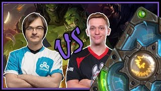Kolento vs stanCifka | Resurrect priest | The Boomsday Project | Hearthstone