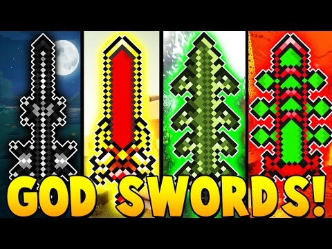 BEST GOD SWORDS EVER MOD | Minecraft - Mod Battle