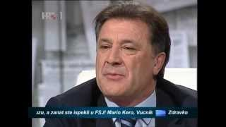 Evo vam kurac svima by Zdravko Mamić - Nedjeljom u Dva(2) Gost zdravko mamić