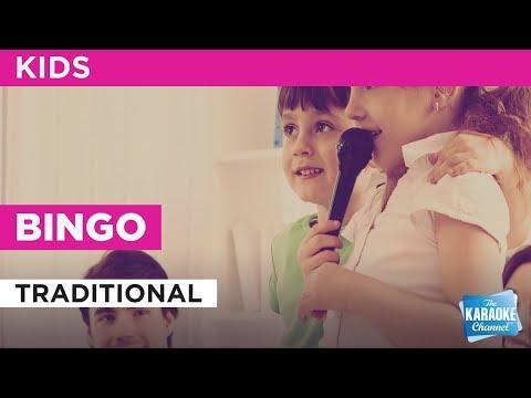 Bingo in the style of Traditional karaoke video