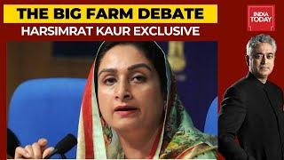 Harsimrat Kaur Exclusive Interview On Farm Bills; Says Tried Till Very End To Change The Ordinance