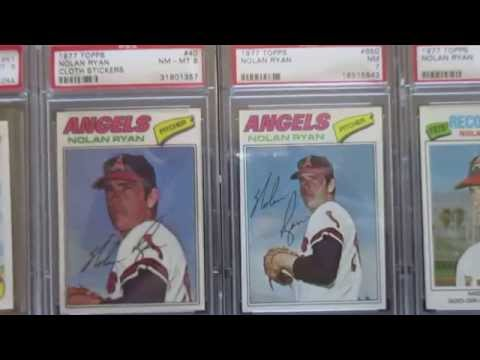 Nolan Ryan PSA Baseball Card Collection