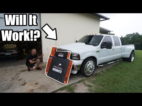 The 7.3 Powerstroke On 24's Gets a FULL Cooling System Upgrade!