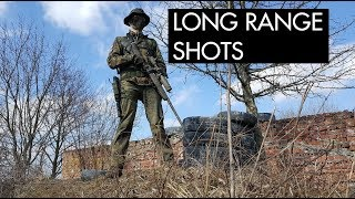 LONG Range Airsoft Sniping - Snajper Na Cegielni 5 - Kaczmysz