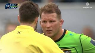 Slimani takes revenge on Dylan Hartley || Champions Cup 2017