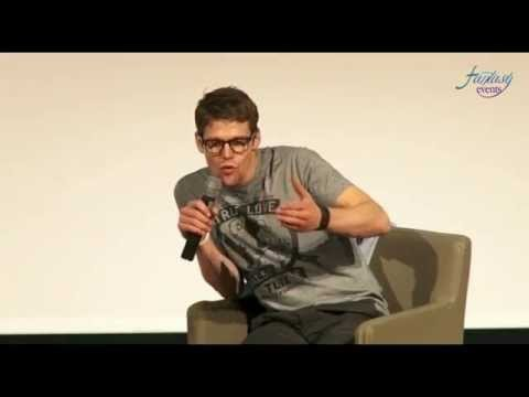 LOVE AND BLOOD ITACON ITALY - Zach Roerig Full Panel HD