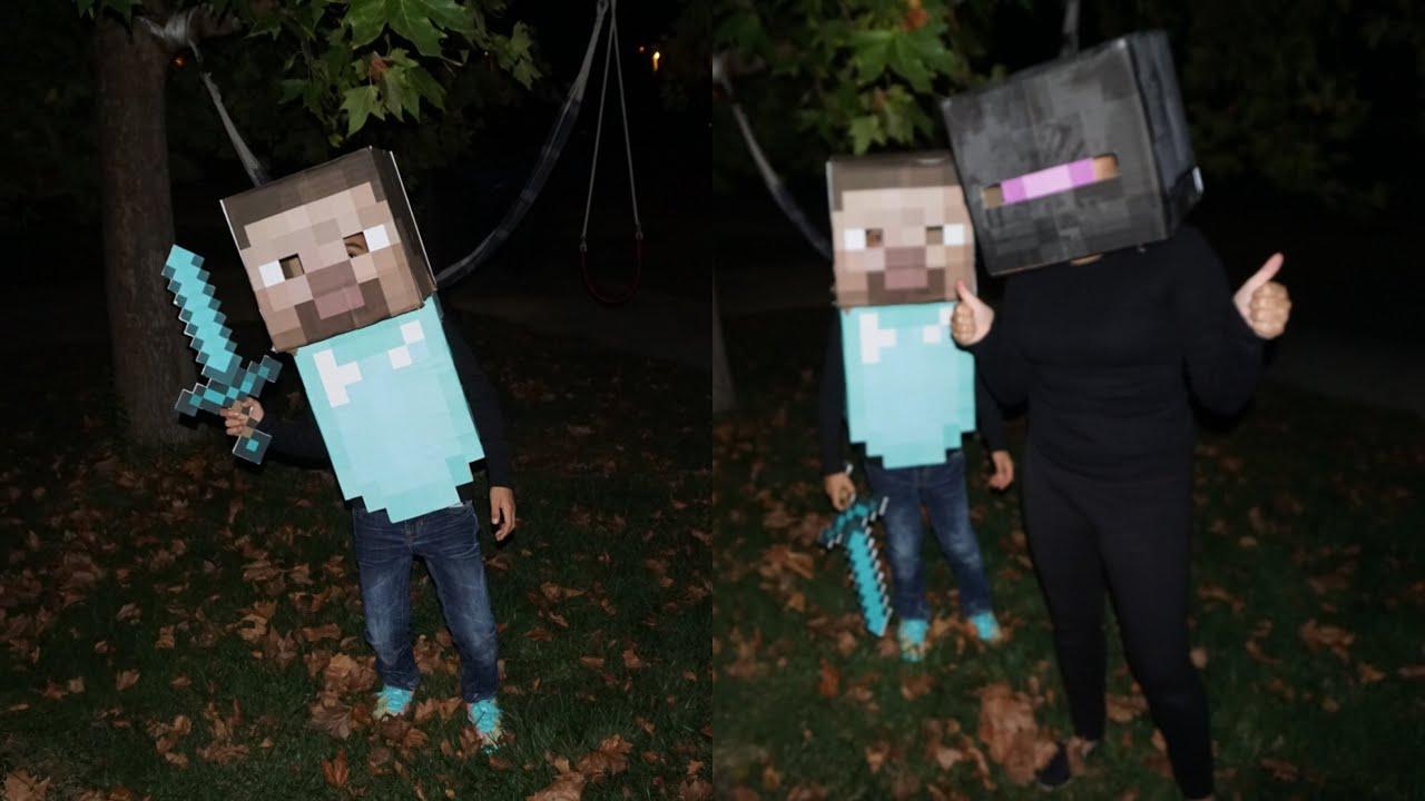 Diy minecraft steve costume youtube diy minecraft steve costume solutioingenieria Images